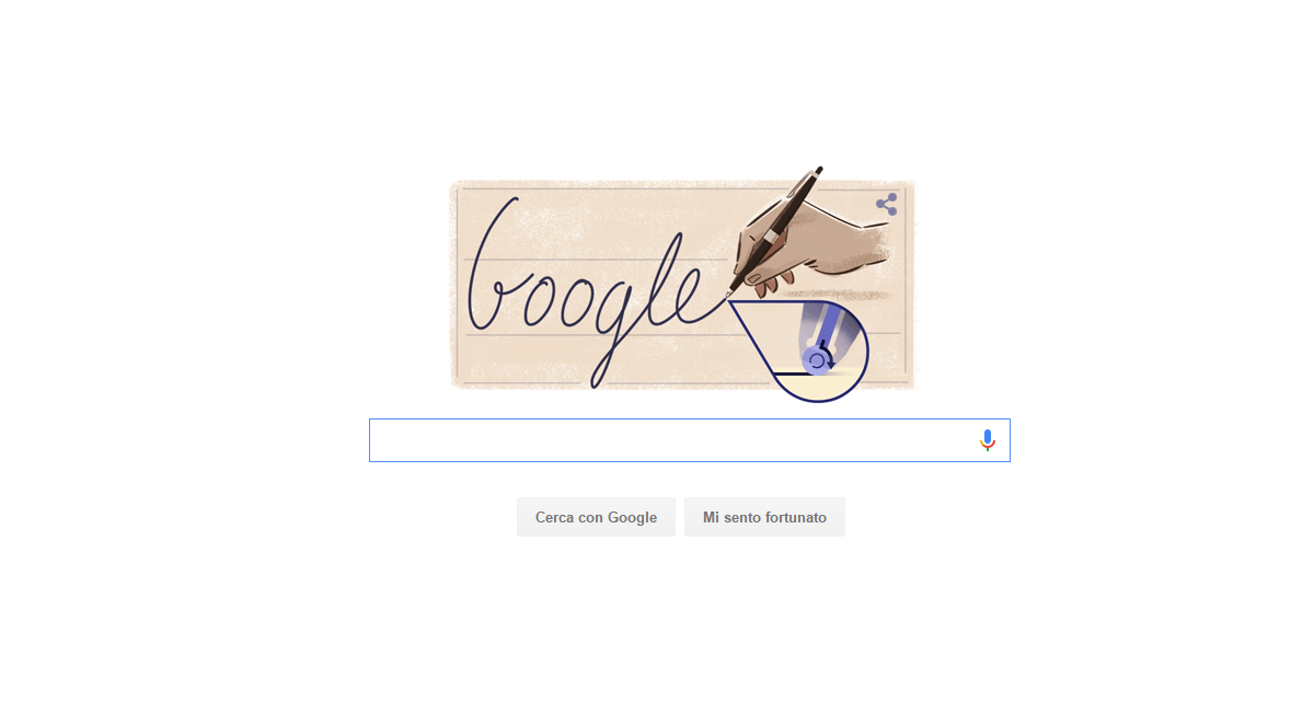 29 Settembre, Google dedica il Doogle a László Biro
