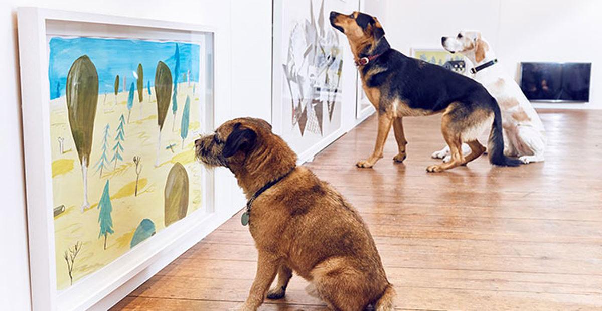 Mostra per cani a Londra: Dominic Wilcox rende omaggio ai quattro zampe