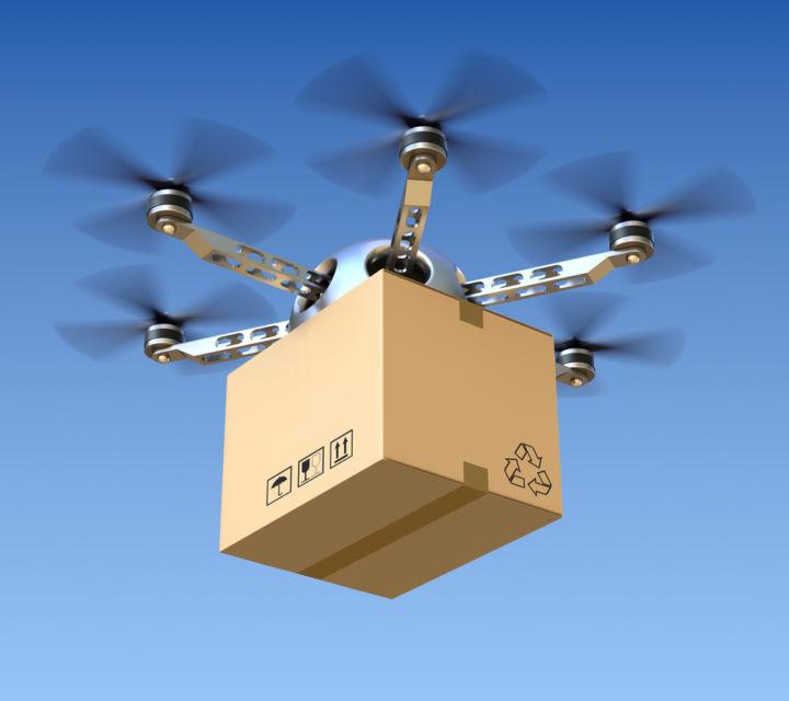 Consegne rapide via droni, in Ruanda