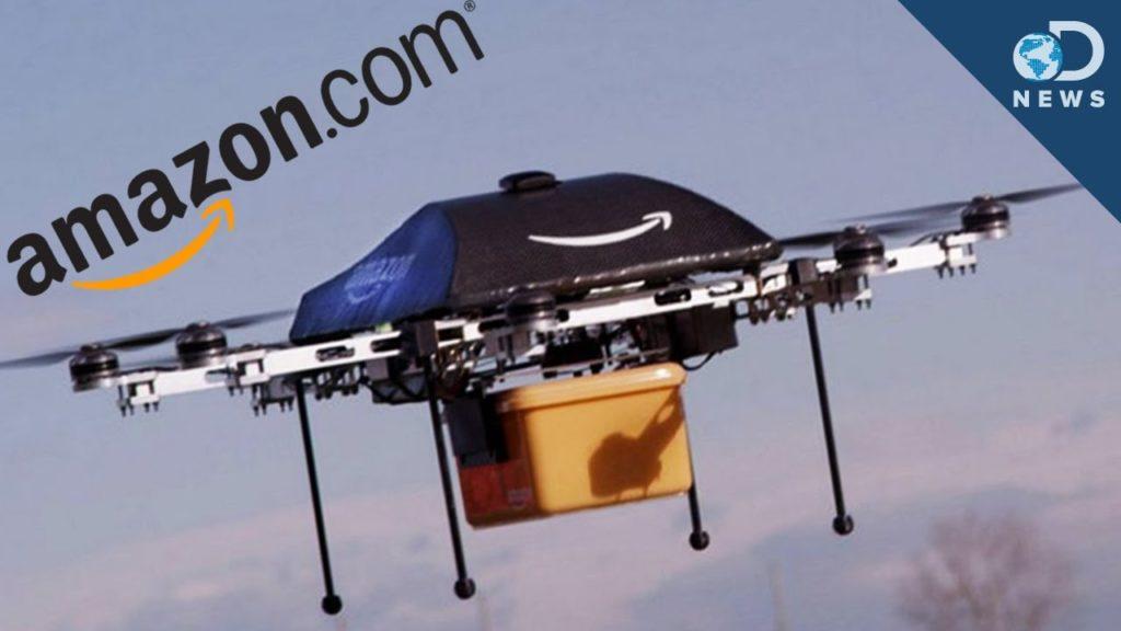 Consegne via droni Amazon