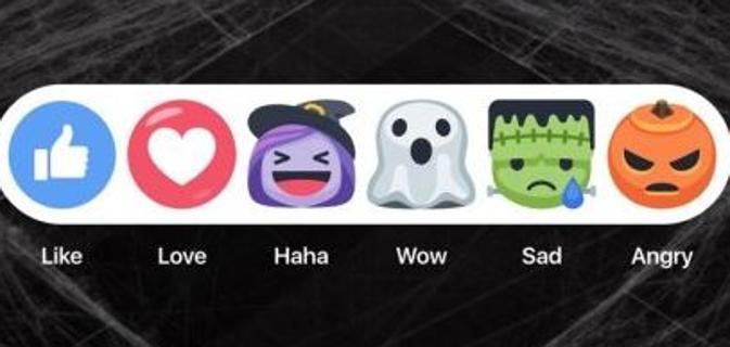 Facebook Halloween-Faccine