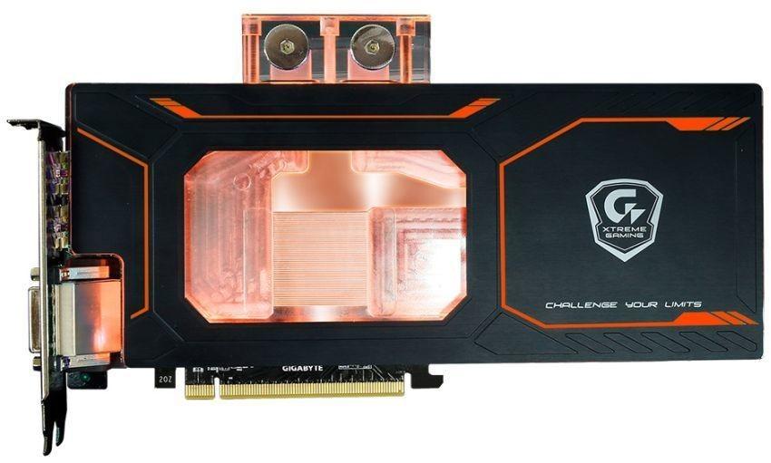 Gigabyte GTX 1080 Xtreme Gaming Waterforce WB 8G