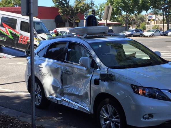Google Car-Incidente
