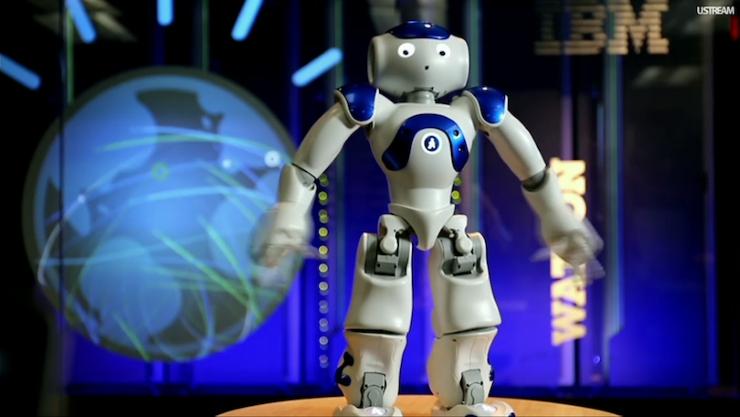 Il robot Watson di IBM