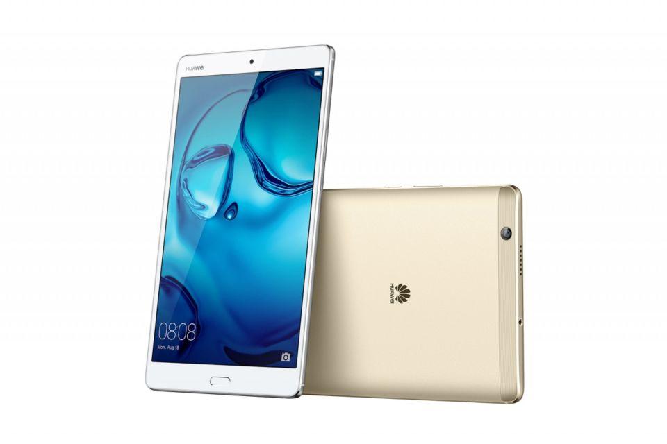 Il tablet Huawei MediaPad M3 con display da 8.4 pollici
