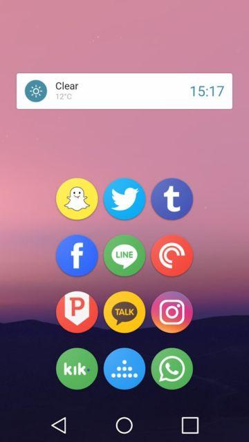 Schermata Android 7.1.1