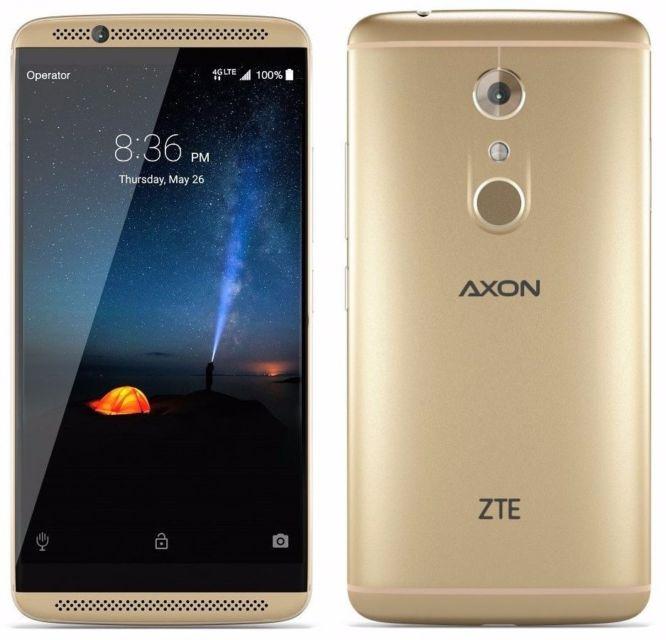 ZTE mostra il suo nuovo smartphone Axon 7 Max, con display da 6 pollici