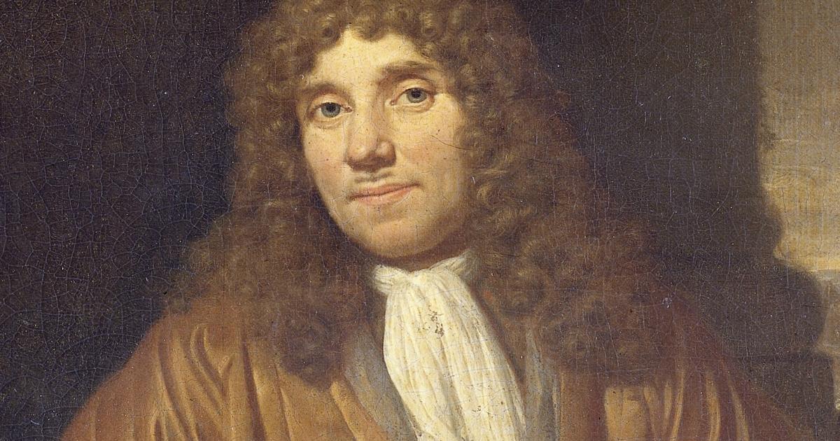 Un doodle per Anthoni Van Leeuwenhoek