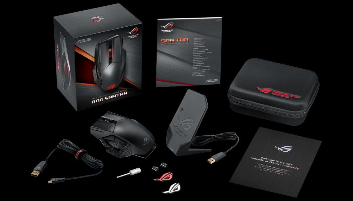 Il nuovo mouse per il GAMING prodotto da Asus: ROG Spatha