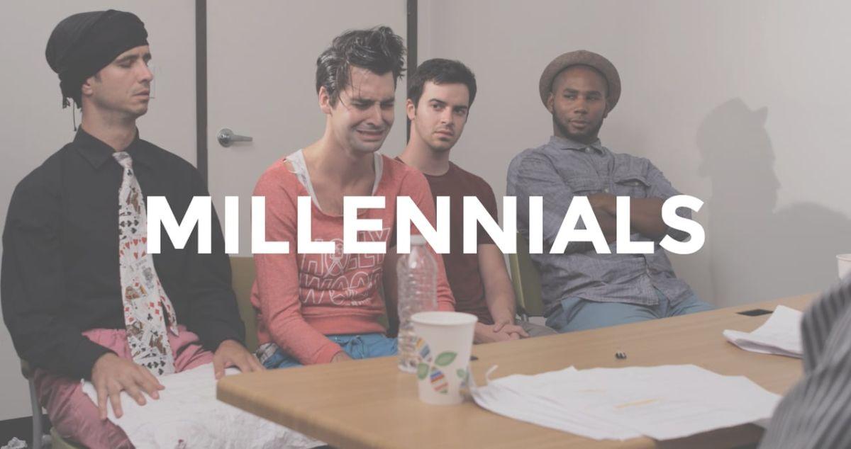 I millennials ricercano viaggi di gruppo e per ricerca lavoro