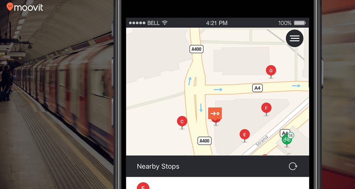 Moovit 5.0, l'app del trasporto pubblico che ti accompagna alla fermata