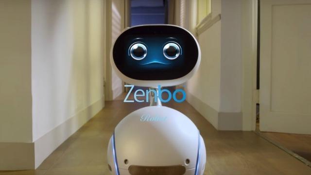 Zenbo, il robot presentato da Asus