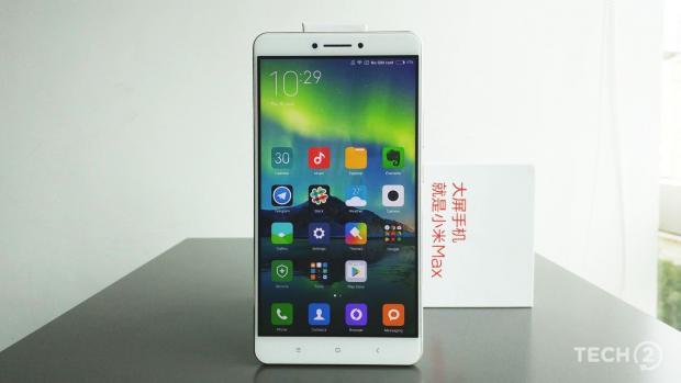 Xiaomi con il suo nuovo smartphone Mi Max