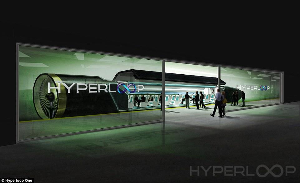Hyperloop One: il treno che raggiunge una velocità di 110 Km/h