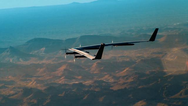 Il drone Aquila