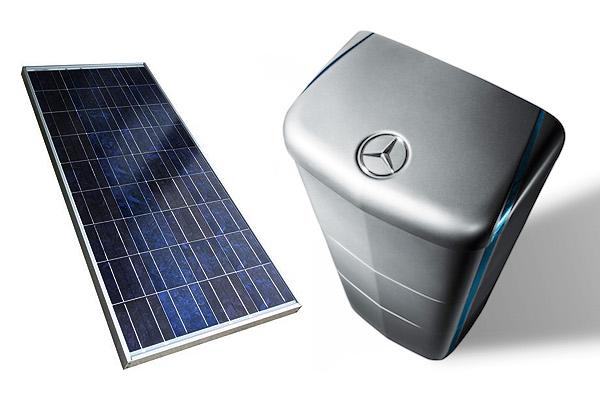 Mercedes Energy Storage