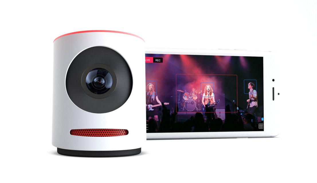 Mevo, ecco la piccola videocamera per i Live di Facebook