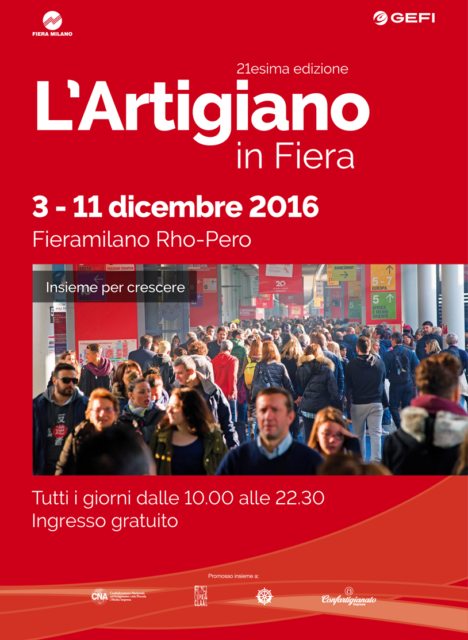 Artigiano in fiera 2016 l 39 evento pi atteso a milano for Fiera elettronica calendario 2016