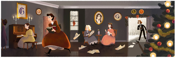 doodle piccole donne
