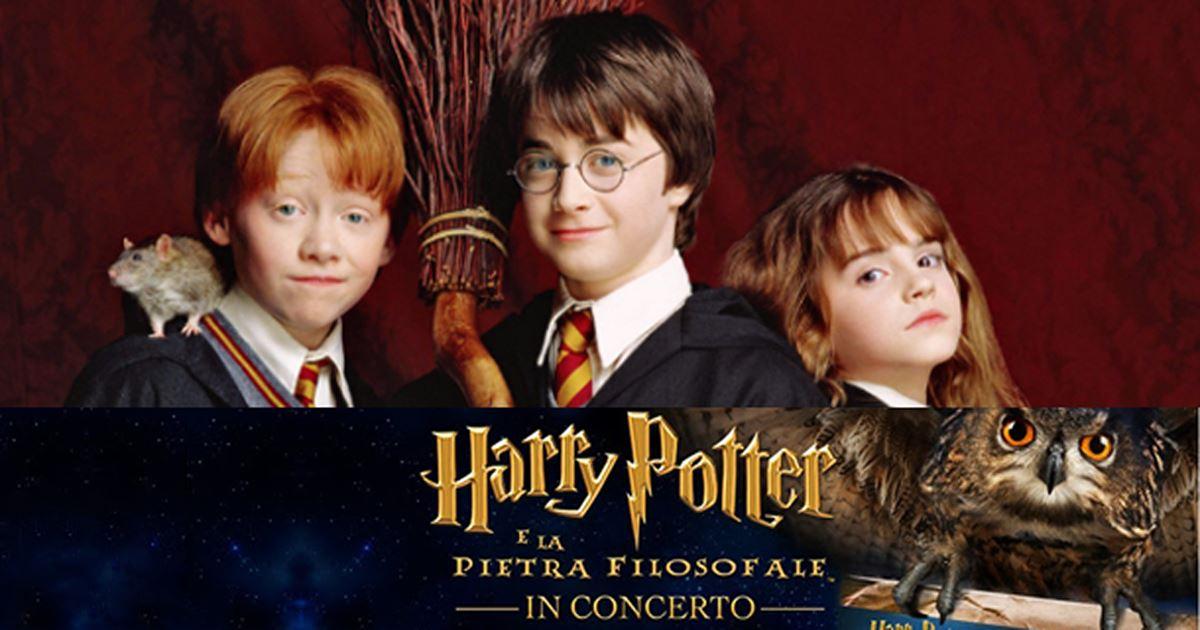 Harry Potter e la Pietra Filosofale: tutto sul cine-concerto a Roma