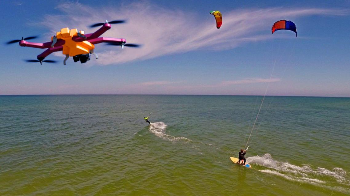 AirDog è il nuovo drone di ultima generazione