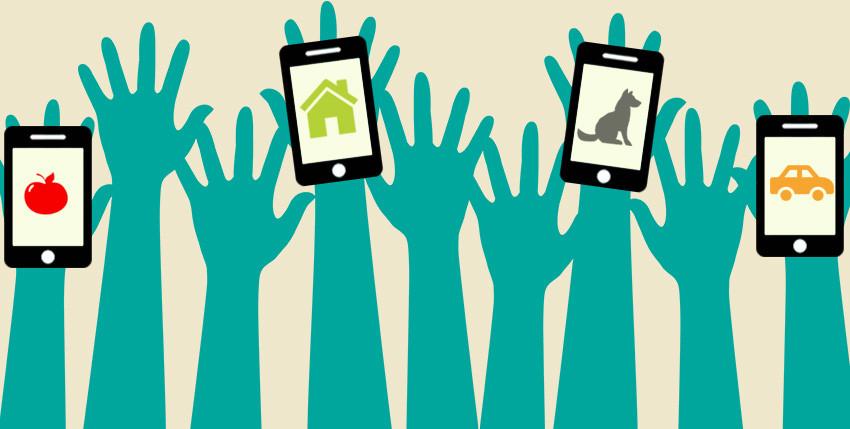 Applicazioni di sharing economy in netta crescita e trend positivo
