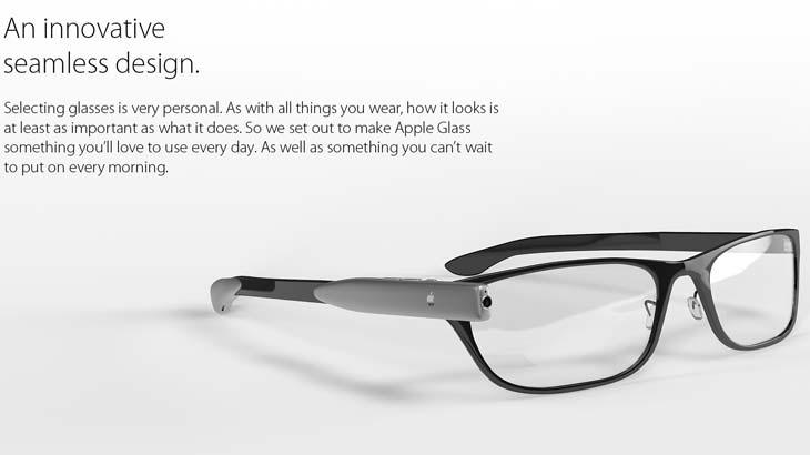 Apple smartglass