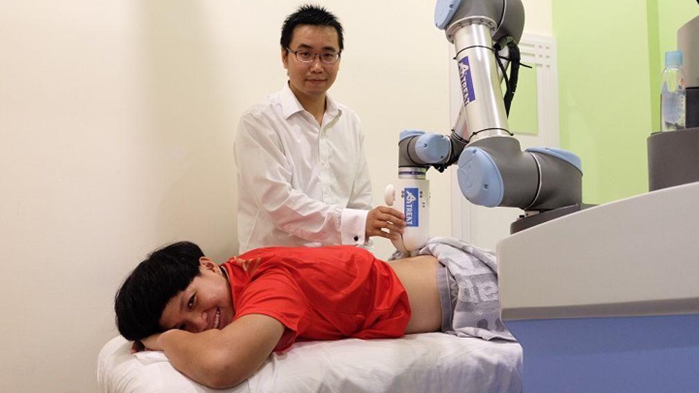 Il nuovo robot Emma sarà il fisioterapista del futuro