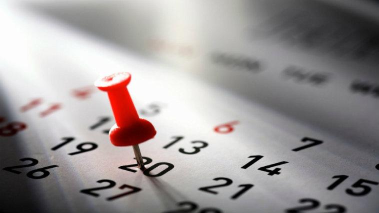 Calendario 2017: tutte le date di feste, ponti e vacanze