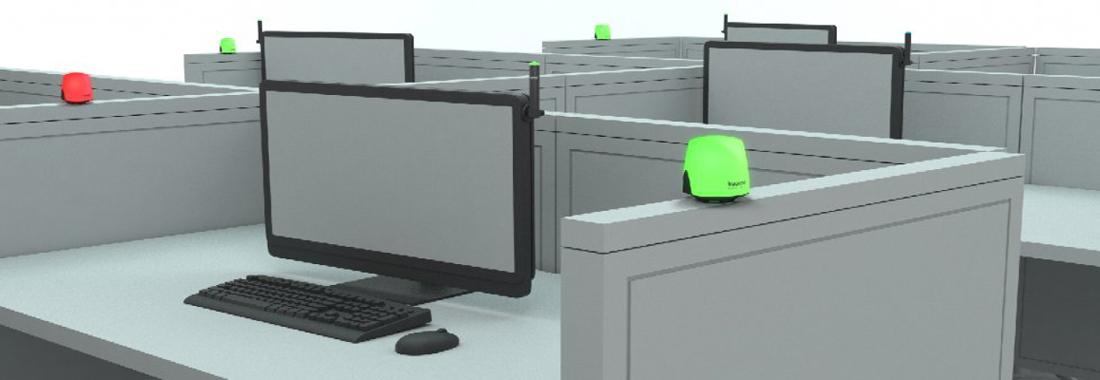 Semaforo in ufficio: in arrivo il gadget per fermare i colleghi fastidiosi