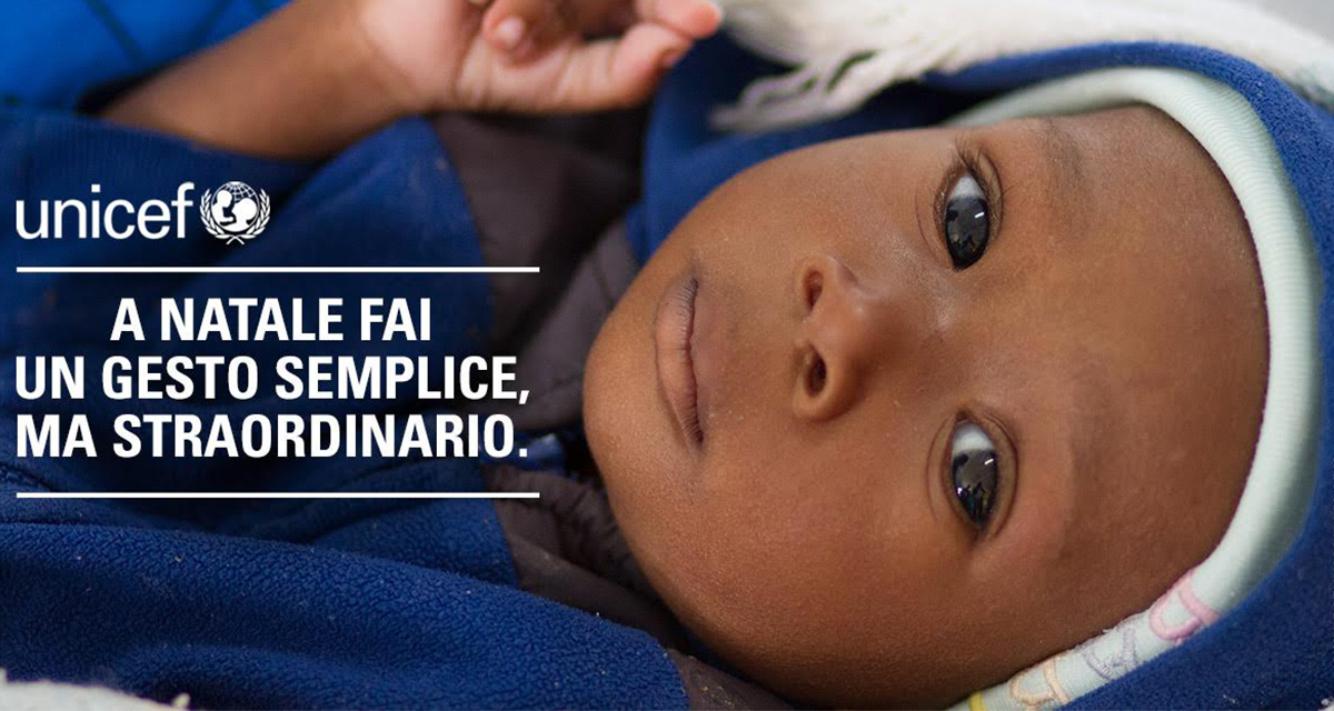 Campagna Unicef Natale 2016, contro la malnutrizione