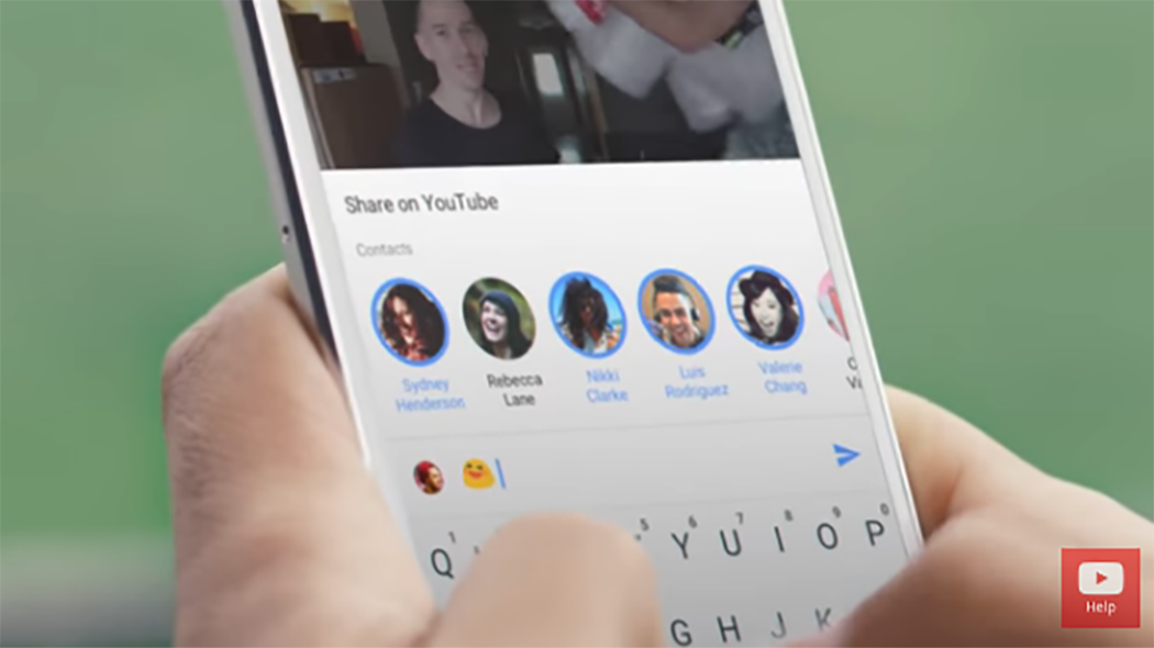 YouTube, l'app mobile diventa una chat