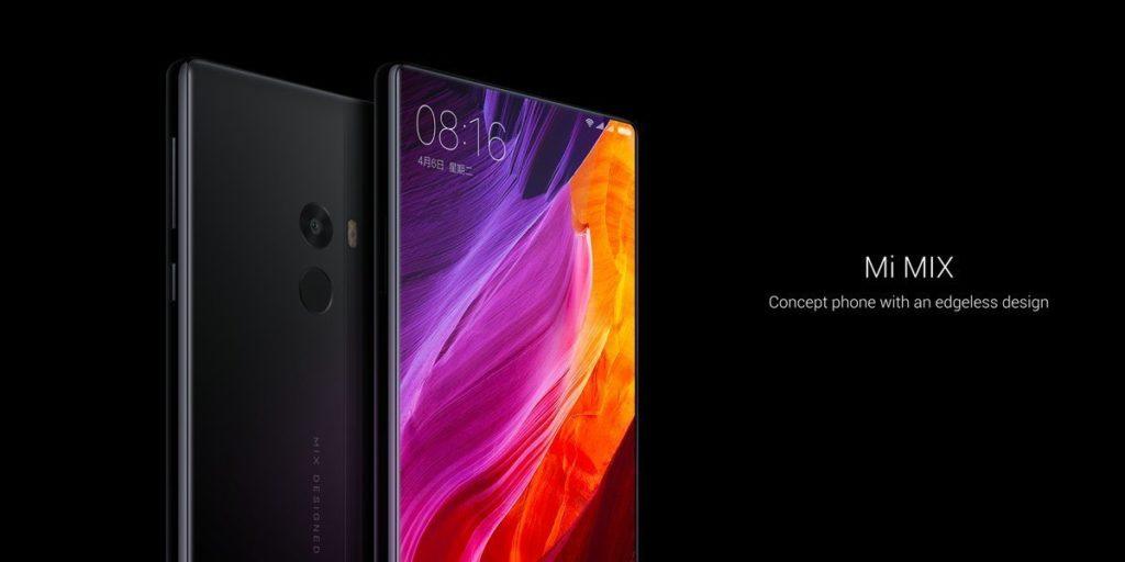 Il nuovo smartphone Xiaomi Mi Mix
