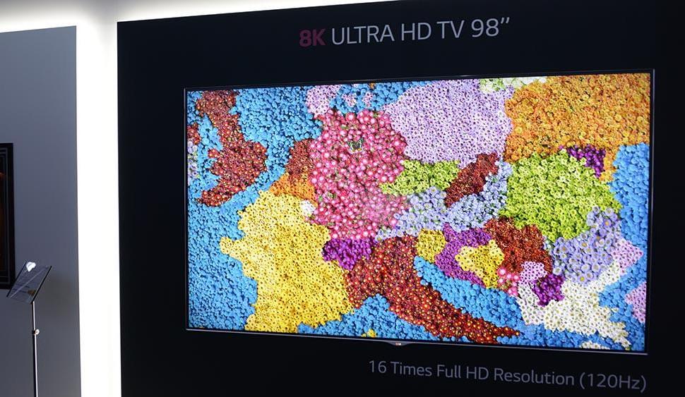 TV in 8K