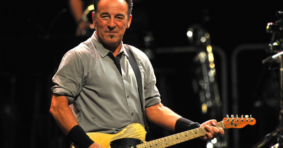 Bruce Springsteen: show segreto alla Casa Bianca
