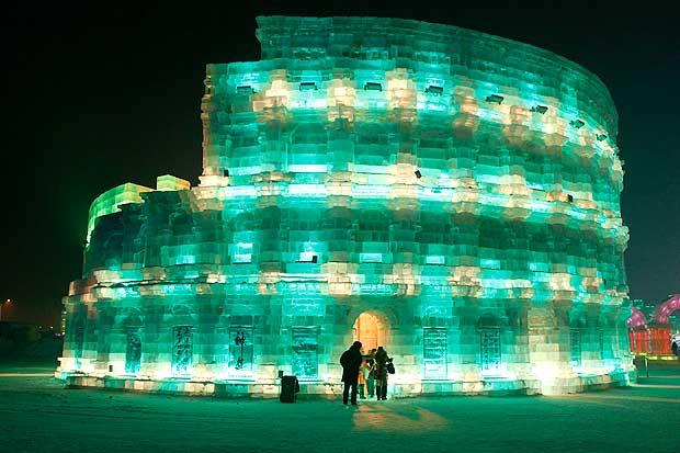 Harbin Ice Festival, inizia in Cina il festival delle sculture di ghiaccio