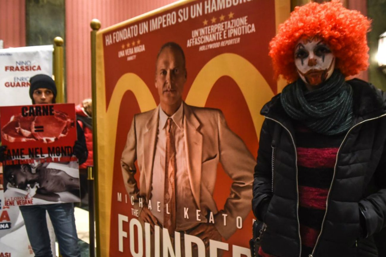 The Founder: il film su McDonald's non va giù ai vegani