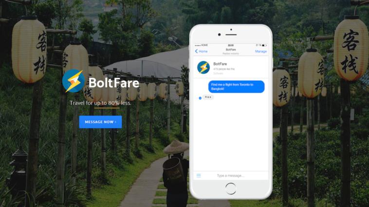 Boltfare app