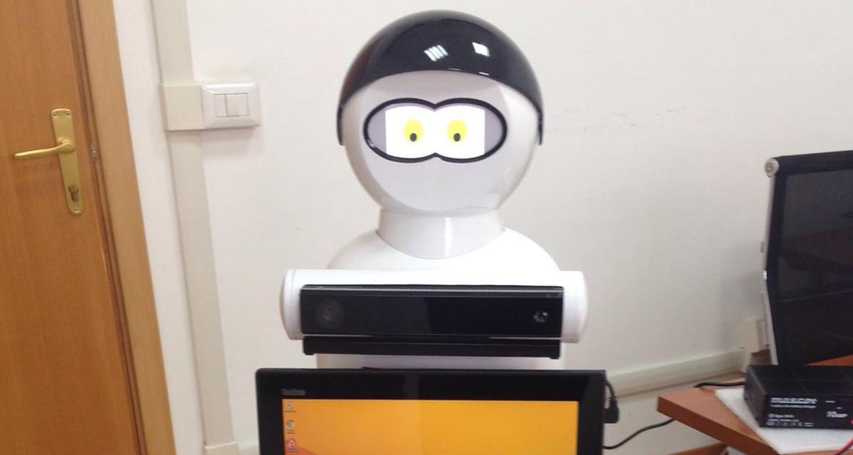 Il robot MARIO, che assiste i malati di Alzheimer