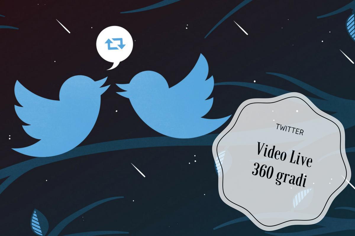 Video live a 360 gradi Twitter lancia il guanto di sfida a Facebook