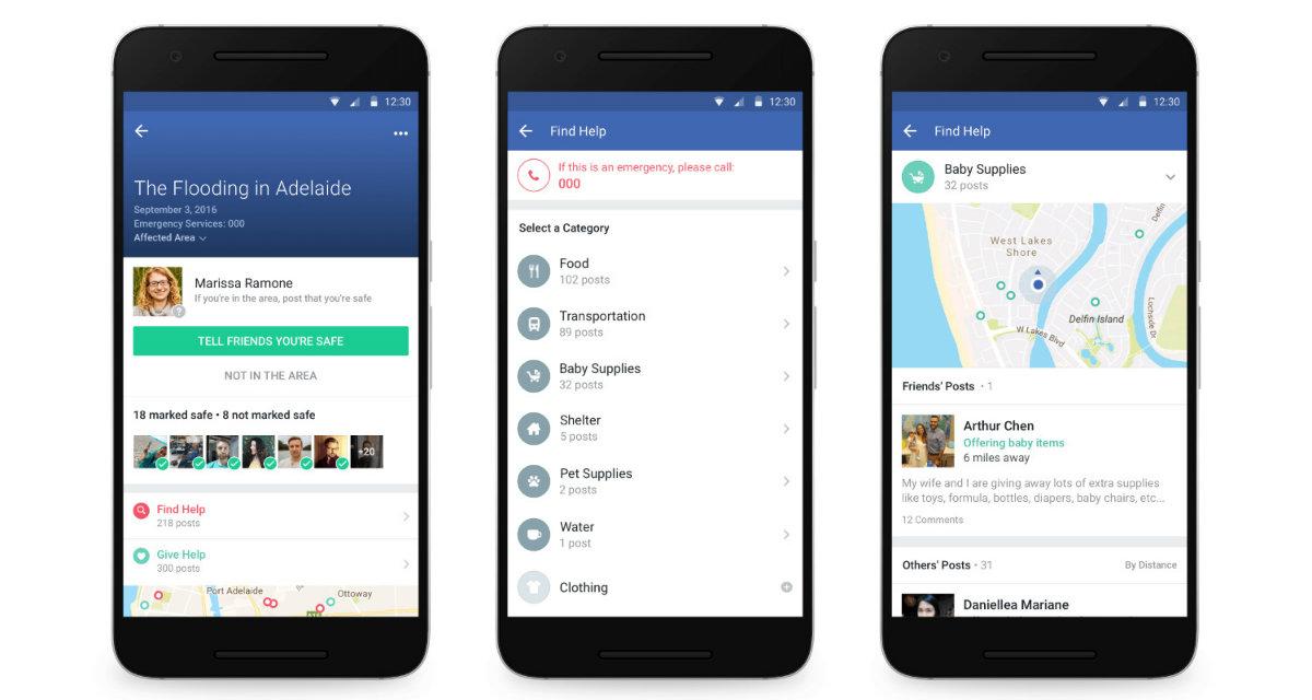 Facebook Community Help: la funzione che aiuta le persone
