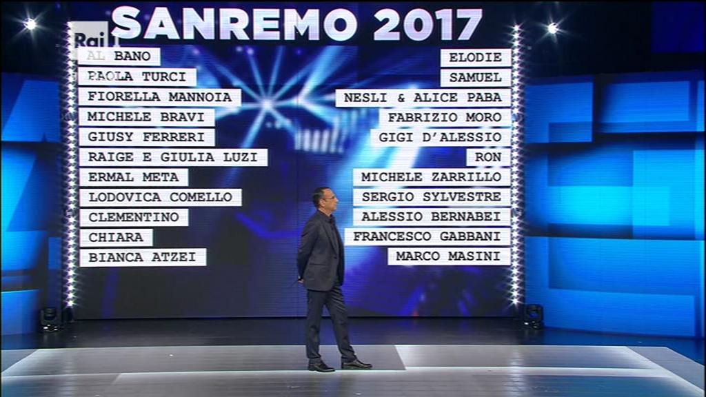 Sanremo 2017 cantanti: curiosità su artisti e canzoni in gara