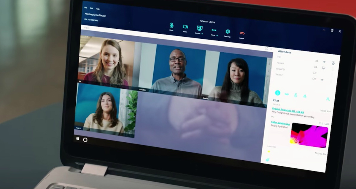Amazon Chime, la video conferenza in risposta a Skype