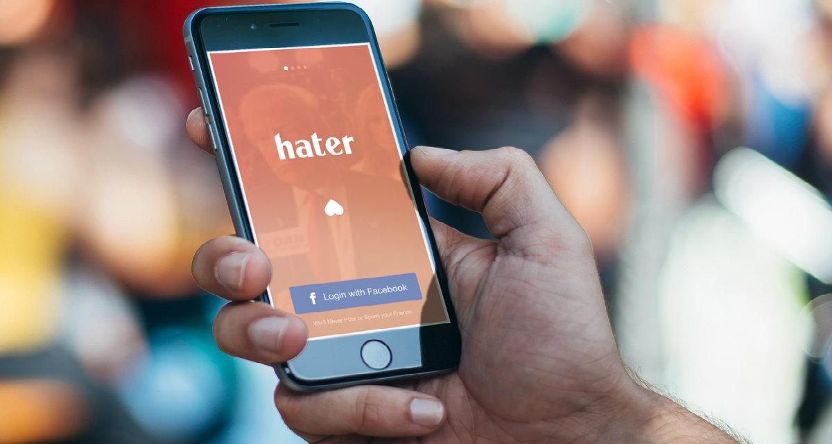 Hater: l'app per conoscere chi odia le tue stesse cose