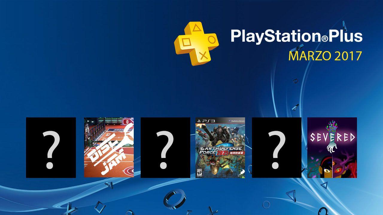 Playstation Plus giochi gratis marzo 2017: tutti i videogame da scaricare.