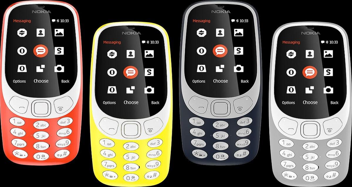 Uscita Nokia 3310 nuovo e Nokia 3, 5, 6: date, prezzi e caratteristiche