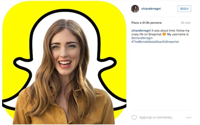 Snapchat account moda, i 5 profili da seguire nel 2017