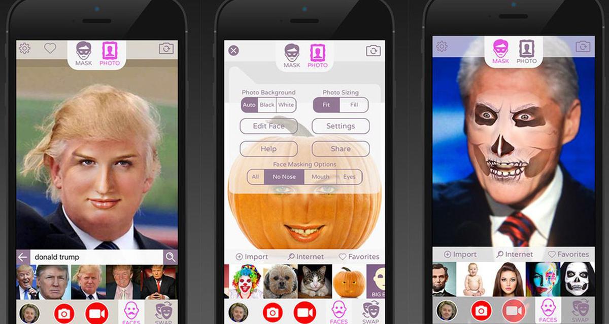 App cambia faccia, 6 applicazioni per cambiare il tuo volto