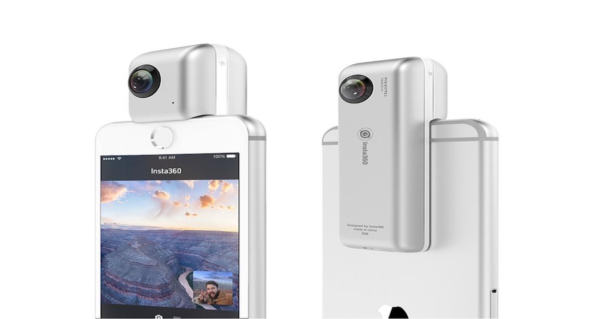 Insta360 Nano: il gadget che trasforma iPhone in videocamera 360