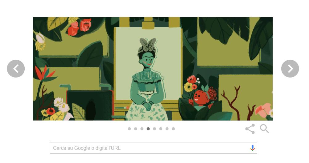 Il Doodle di Google per celebrare la Festa della Donna